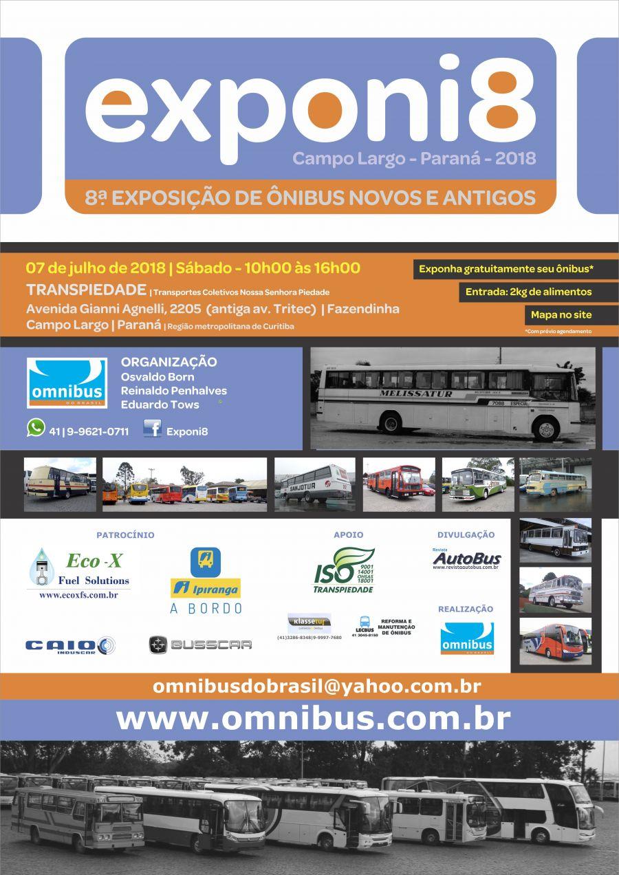 EXPONI 8 – 8.ª Exposição de Ônibus Novos e Antigos